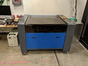 New Blue Laser Cutter